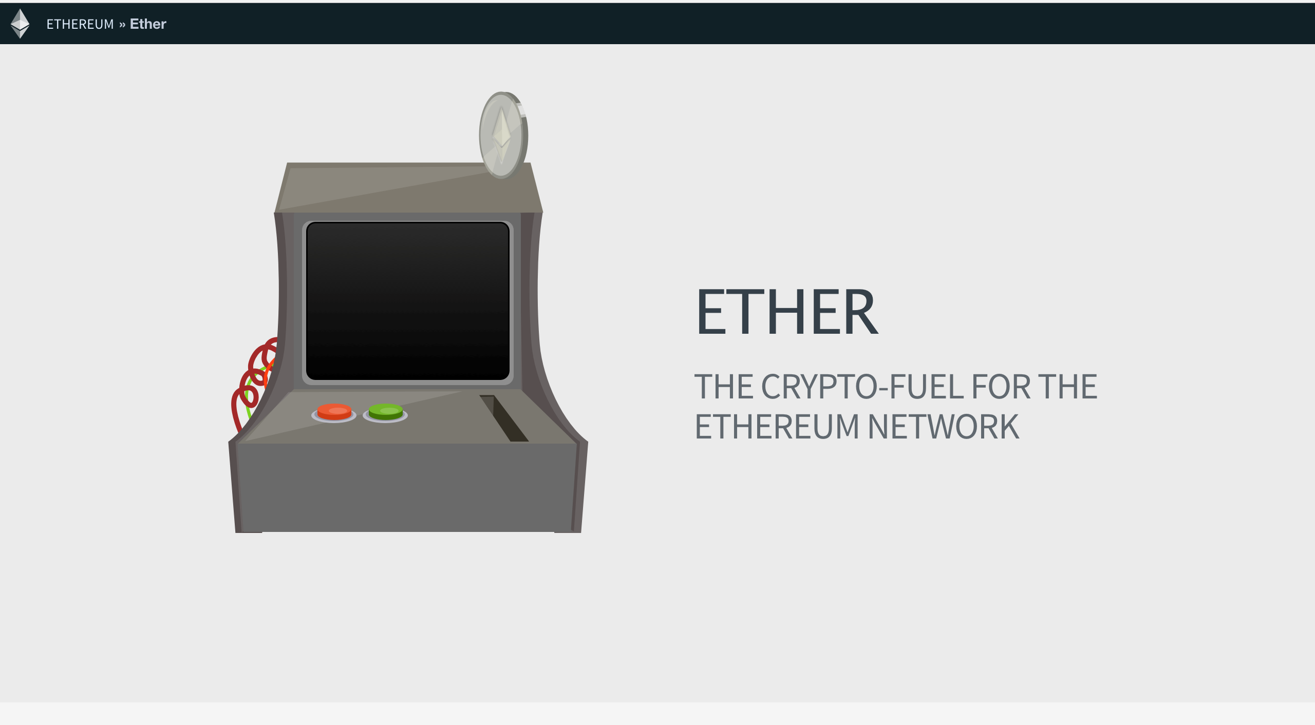 difference ether and ethereum