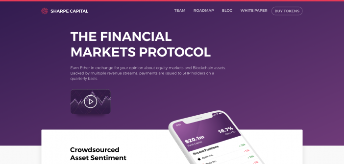 Sharpe Capital – The Financial Markets Protocol