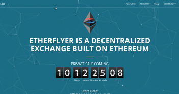 Etherflyer a decentralized digital currency trading platform