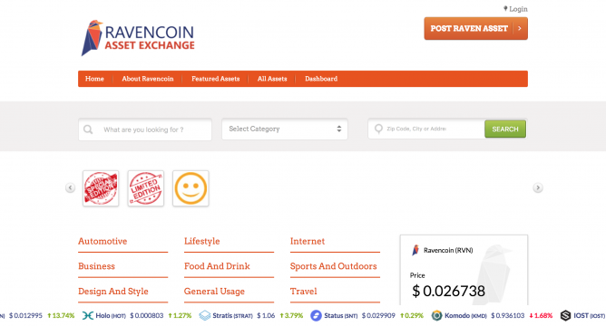 Ravencoin Asset Names: Analysis and Valuation - CoinDiligent