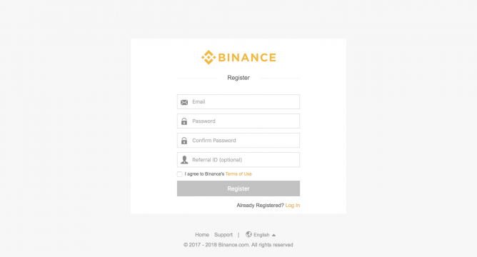 buy crypto on binance