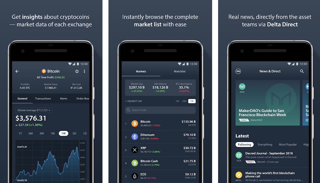 delta app screenshot