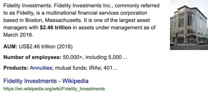 fidelity assets under management