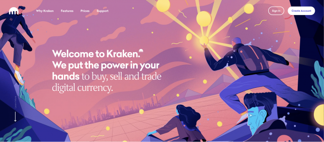 kraken coinbase alternative
