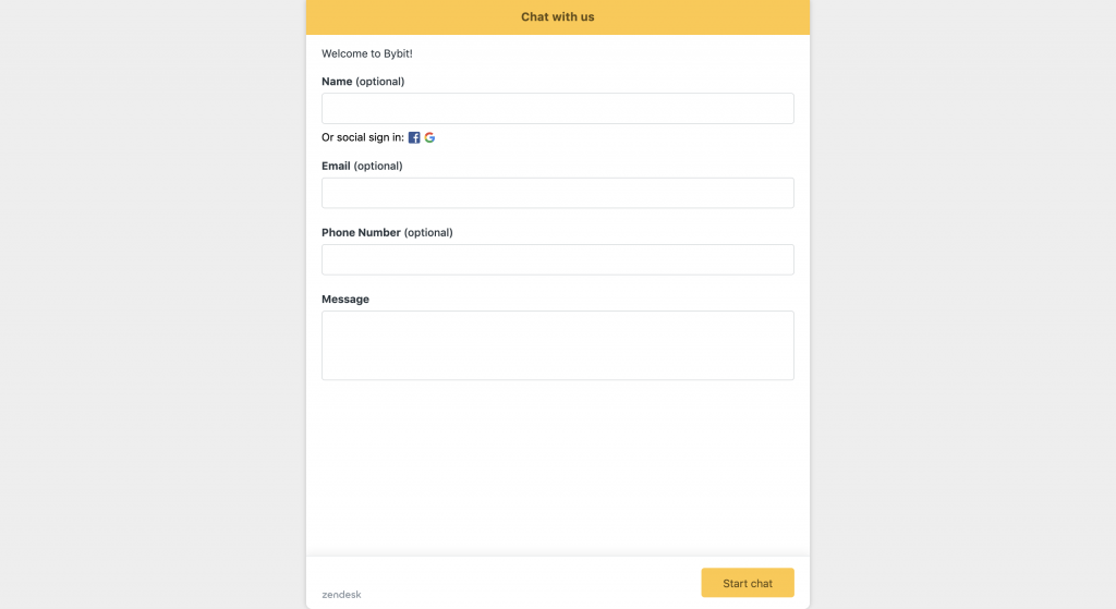 bybit customer support chat